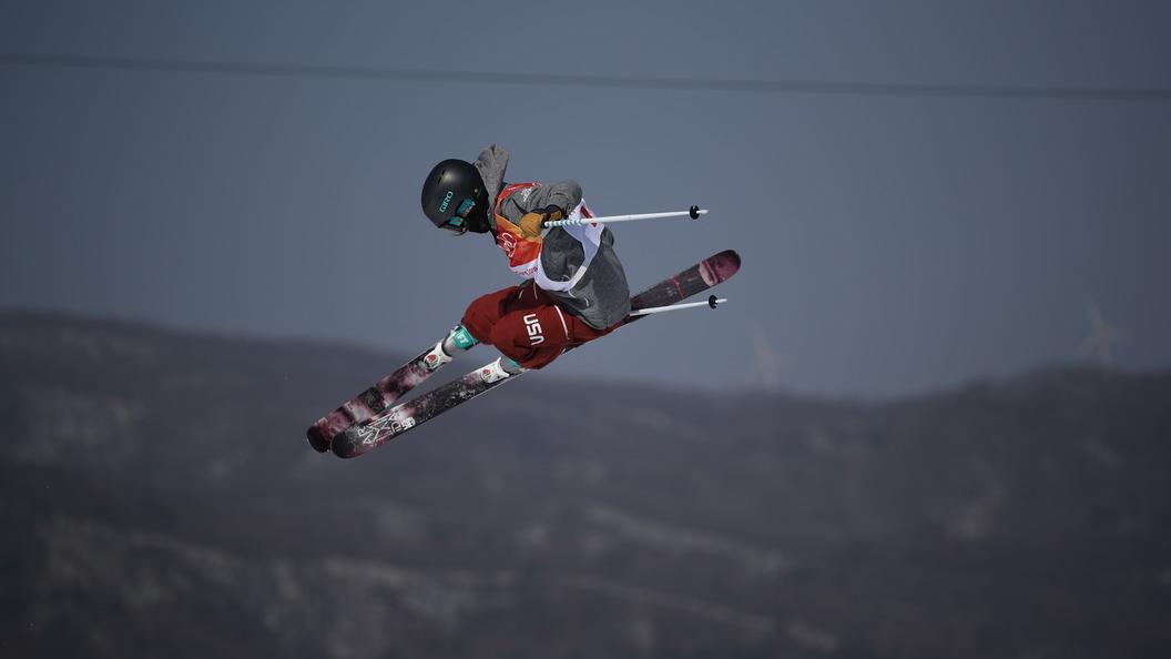 Лыжница вхафпайпе поленилась делать трюки— Олимпиада