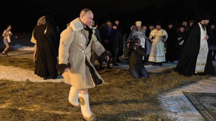 Путин сделал это намеренно: Американец раскусил смысл купания в проруби и сдал назад