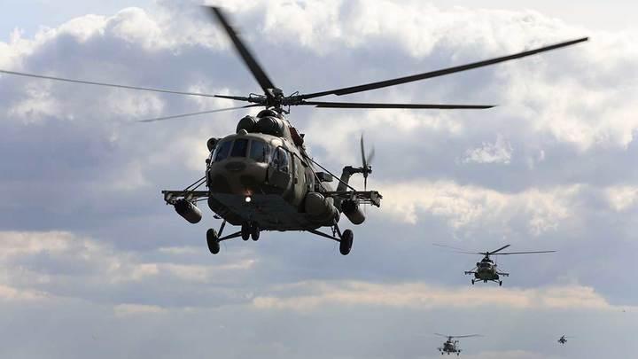 Предположительно, трое погибли. Обнародованы фото с места крушения Ми-8