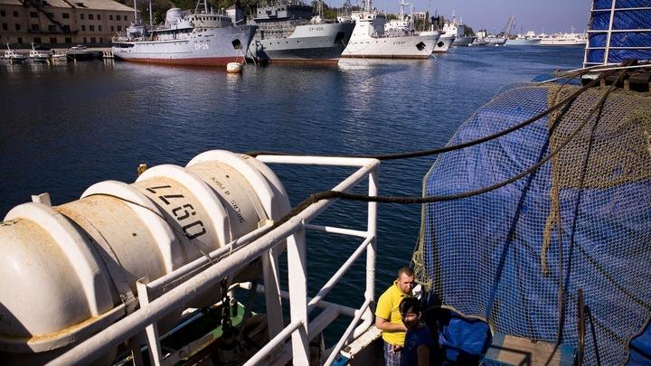 Отставной офицер Черноморского флота попался на шпионаже