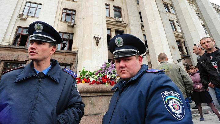 Машина с флагом СССР переполошила полицию Одессы