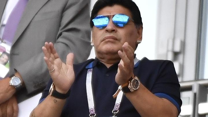 Легендарный Диего Марадона умер