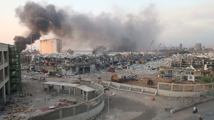 Опять украинский след? В эпицентре взрыва в Бейруте оказалось судно из Мариуполя