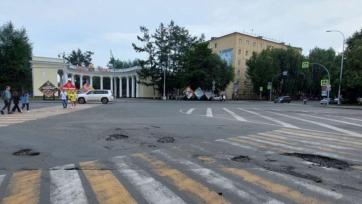 Кемеровчан оценили качество городских дорог