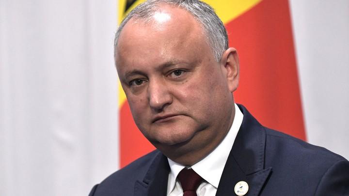 Додон предупредил о крахе Молдавии в ближайшие месяцы