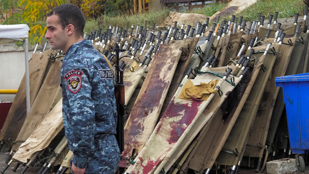 Армения – Азербайджан: Военные потери сторон в Нагорном Карабахе