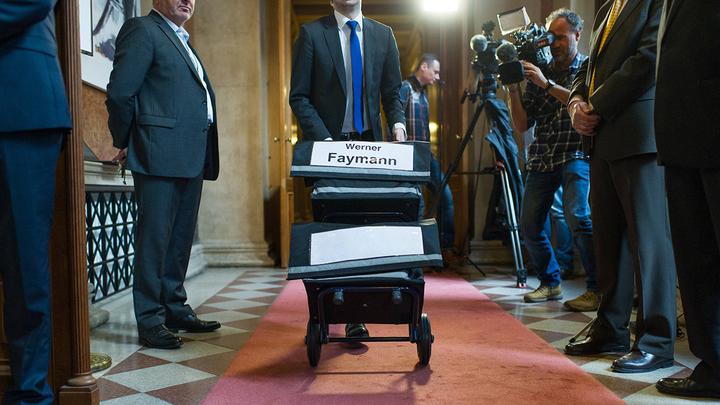 Политическая революция в Европе началась с Австрии