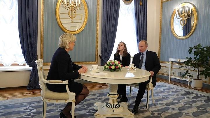 Кремль опубликовал полную стенограмму встречи Путина и Ле Пен - фото