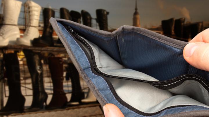 Нехватка денег на обувь: Враньё. Или реальность