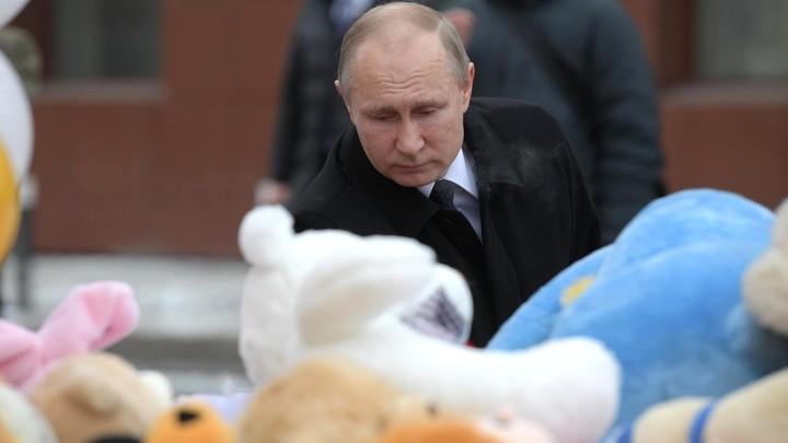 Статус ни при чем, когда погибли люди: Путин ответил на вопрос об отставке Тулеева