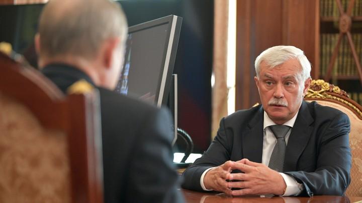 Полтавченко собрался заниматься новой работой «с Божьей помощью»