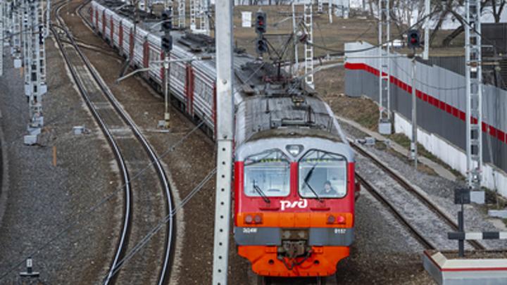 В Курганской области под колесами поезда погиб восьмилетний мальчик