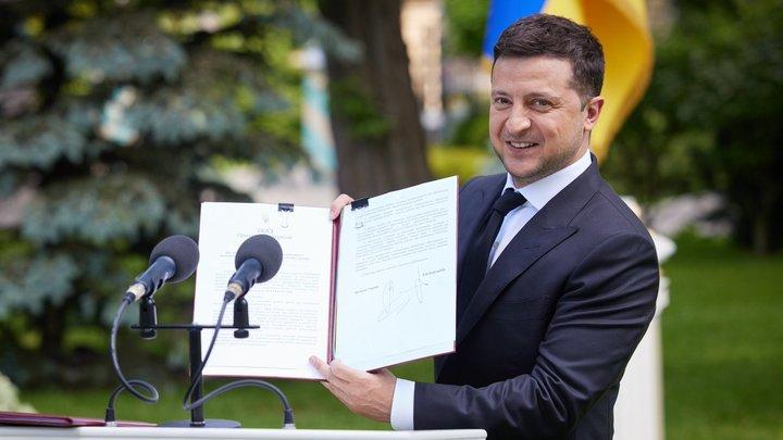 В конституции Украины нашли пробел: Зеленский ждёт неотложного решения