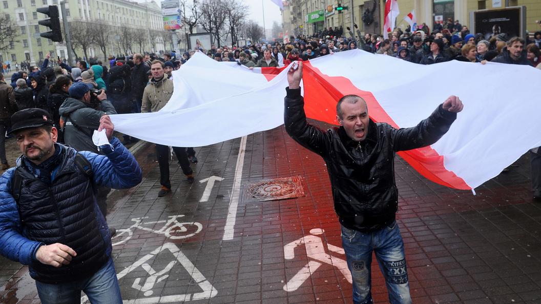 Крах белорусского майдана