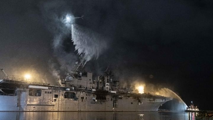 Авианосцы США горят неспроста? Военный эксперт намекнул на связь с российскими Цирконами