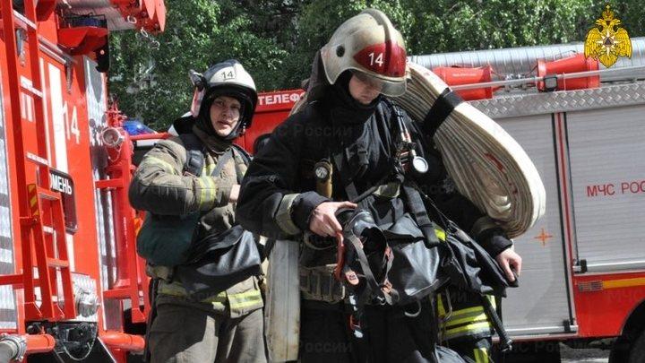 Пожар произошёл в кремле в Нижнем Новгороде