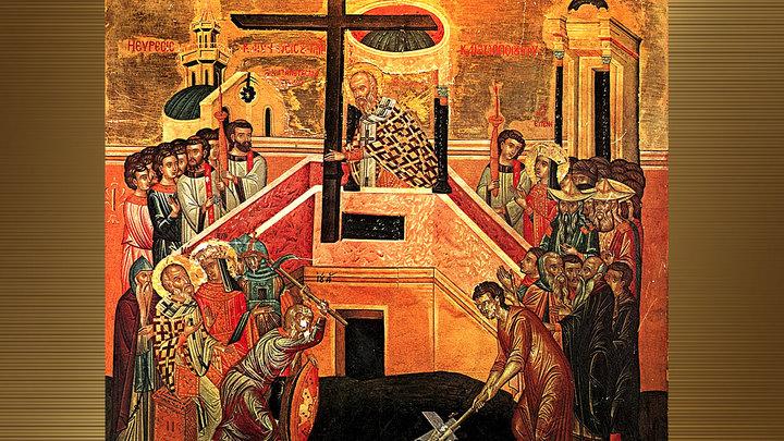 Обретение Честного Креста. Православный календарь на 19 марта