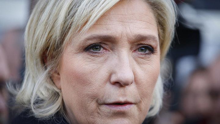 Зачем глобалисты обыскали Ле Пен