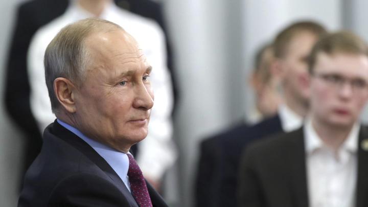 Испугались? Спасибо... Путину пришлось остановить обращение к сотрудникам ФСБ