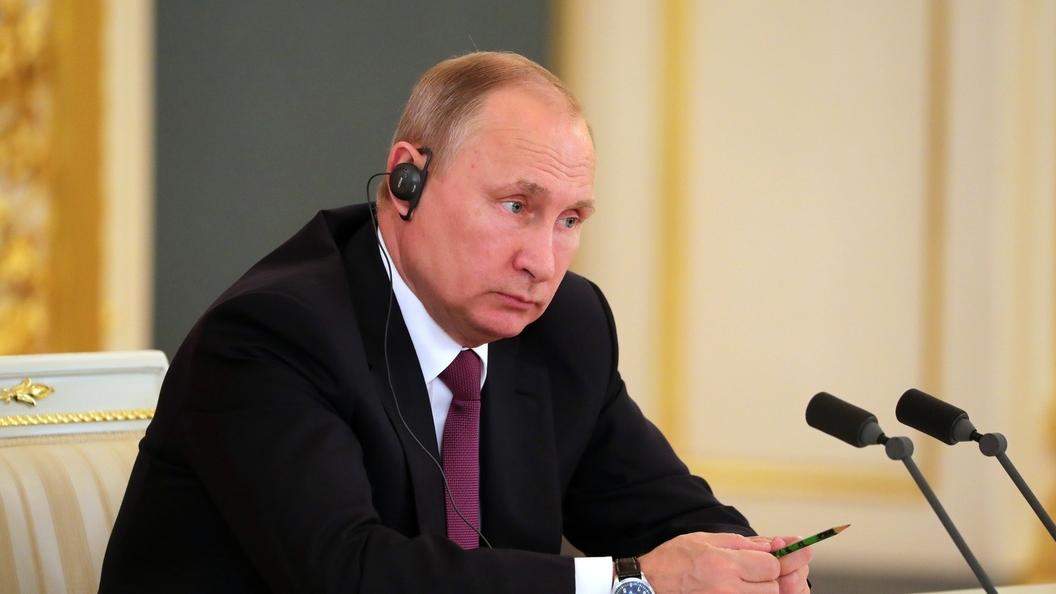 Путин озвучил условия присутствия полицейской миссии в Донбассе