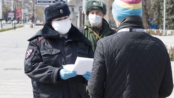 В Ростове-на-Дону за один день выписали штрафов на 2,7 млн рублей за нарушение режима самоизоляции