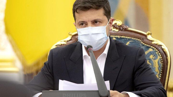Я тоже получил + результат: Зеленский пообещал побороть коронавирус