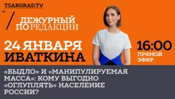 «Быдло» и «манипулируемая масса»: кому выгодно «оглуплять» население России?
