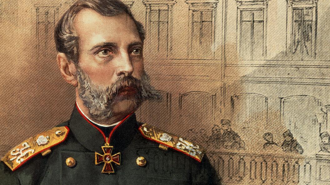 Крестьянин спас Александра II от студента-недоучки