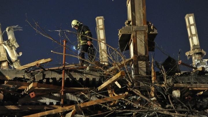 В центре Сочи частично обрушился жилой дом