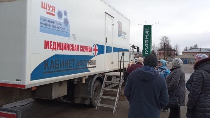 В Иванове откроются пункты вакцинации от COVID-19 в «Ясене» и «Тополе»