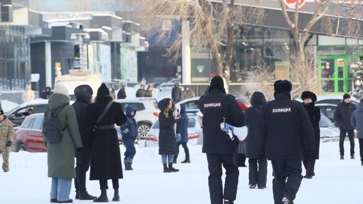 12 детей задержали на митинге в Челябинске