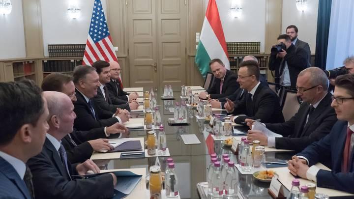 Америка - несолидный игрок, на отношениях с Россией это не скажется: В Венгрии безучастно отнеслись к визиту Помпео