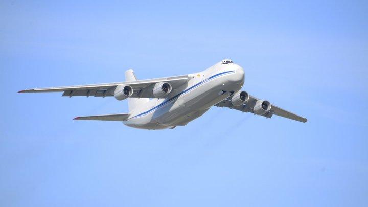 ЧП с самолётом АН-124 в аэропорту Новосибирска: Подробности инцидента