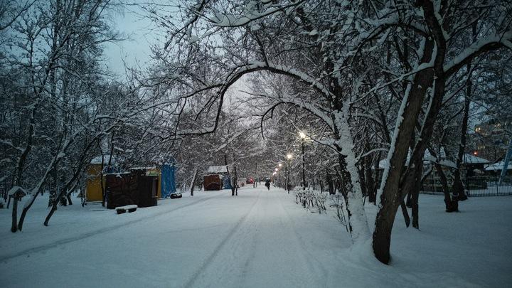 В Новосибирске объявили предупреждение из-за снегопадов и оттепели