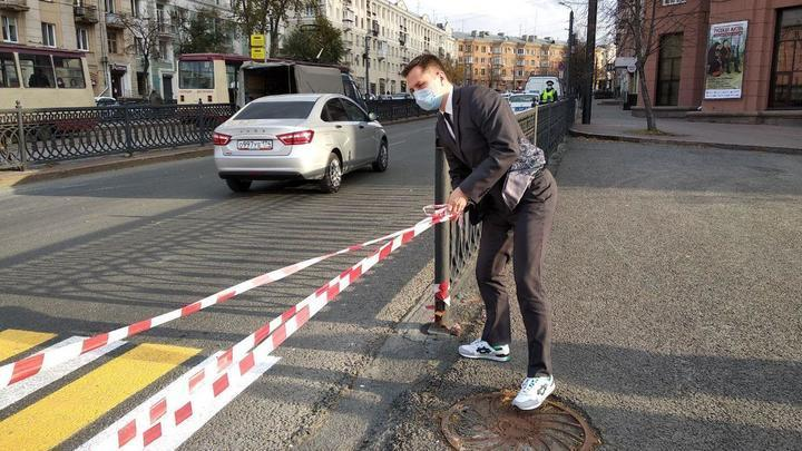 Оставят ли наземный переход у Ритма: столичный урбанист против начальника ГИБДД Челябинска