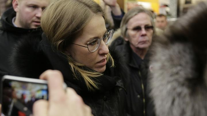 Чисто чума: Собчак не сдержалась после похоронной инициативы в Петербурге