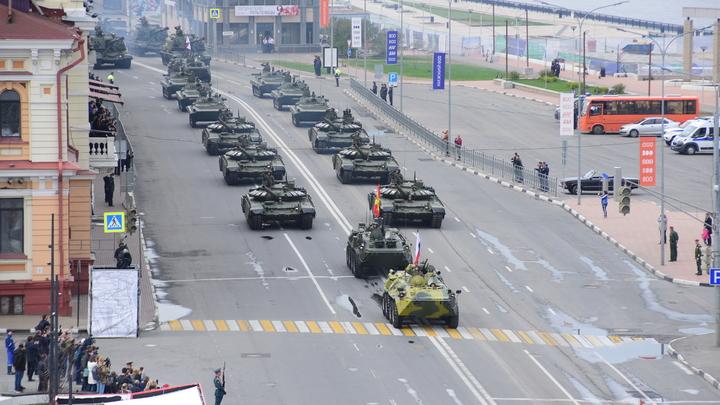 Парад Победы в Нижнем Новгороде стал самым масштабным в истории города