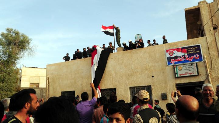 Восточный Каламун вернулся под контроль правительства Сирии