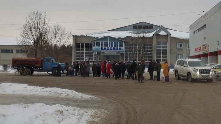 Жители Вольгинского остались на два дня без воды