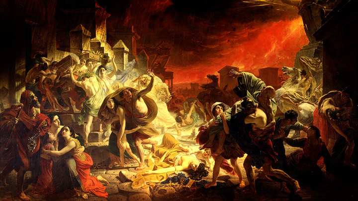 Как погибают народы и государства. Содом, Тир, Сидон, Помпея