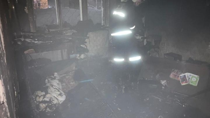 В Кольчугино спасатели вывели во время пожара из многоэтажки 17 человек