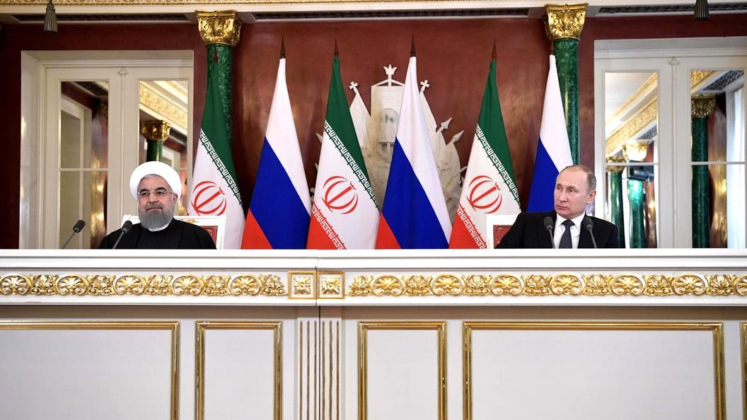 Иран предложилРФ объединиться для противодействия коалиции США