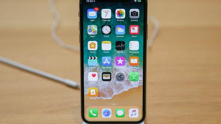 Apple признала, что iPhone X за 90 тысяч не может работать в России