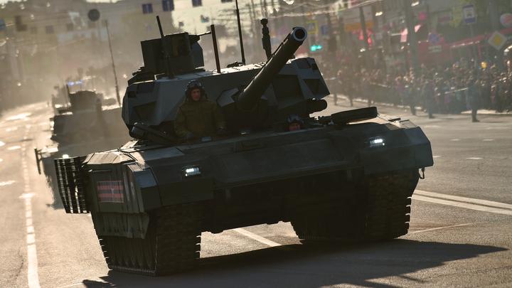 Пока немцы и французы тонут в спорах о пушке, русский танк Армата обошел всех -Die Welt
