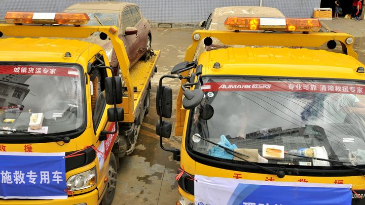 Массовое ДТП в Китае: 30 авто столкнулись на трассе