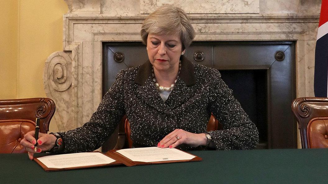 Лондон начал бракоразводный процессс Брюсселем