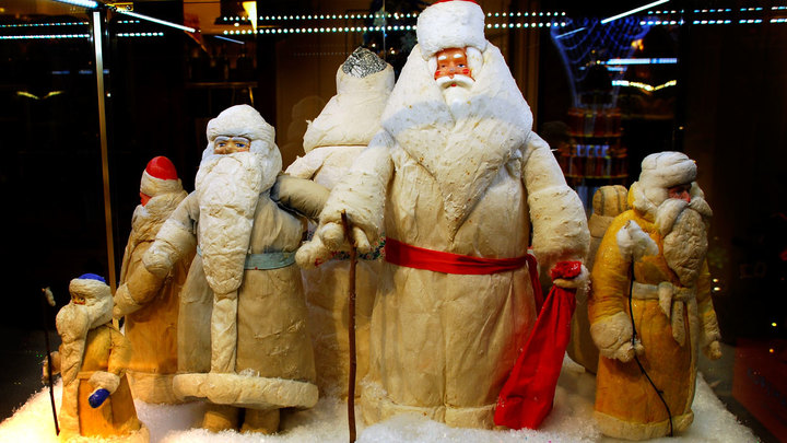 Самые популярные Деды Морозы в СНГ