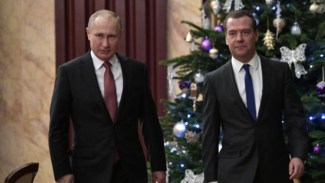 Путин назвал политической задачей создание условий для решительной работы бизнеса