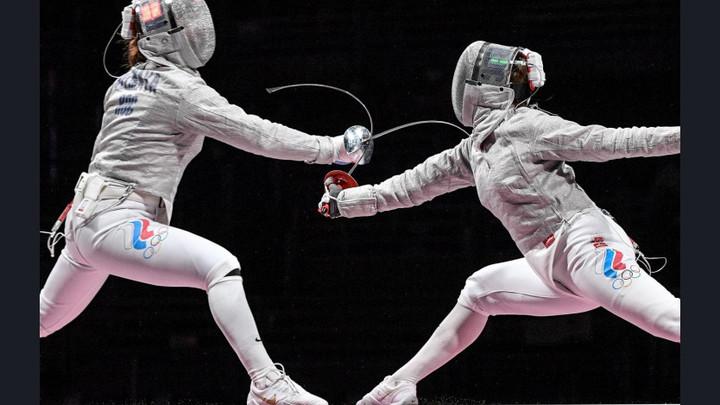 Саблистка из Новосибирска София Позднякова вышла в финал Олимпиады в командном турнире