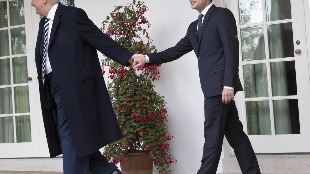 Трамп обсудил сМакроном «всеобъемлющую» сделку поИрану